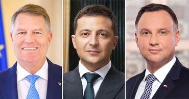В День Независимости Молдову посетят Зеленский, Дуда и Йоханнис. Коллаж: Point.md