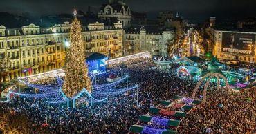 Киевская елка вошла в пятерку лучших в ЕС.