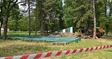 """В столичном парке """"Алунелул"""" начинается второй этап ремонтных работ."""