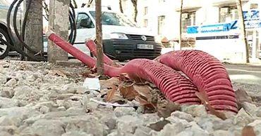 Ремонт улицы 31 августа в Кишиневе не завершен до сих пор.