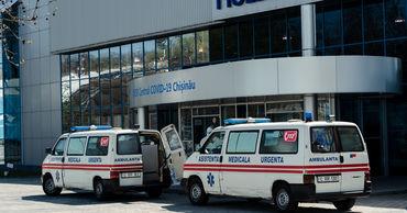 COVID-19 в Молдове: 251 пациент в тяжелом состоянии, 22 на ИВЛ.