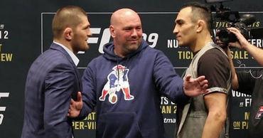UFC нашла место для проведения боя между Хабибом и Фергюсоном.