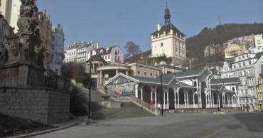 Чешский курорт Карловы Вары превратился в город-призрак.