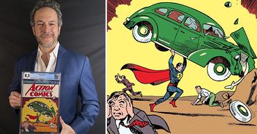 Редкий комикс с Суперменом продали за рекордные $3,25 миллиона. Фото: Point.md.