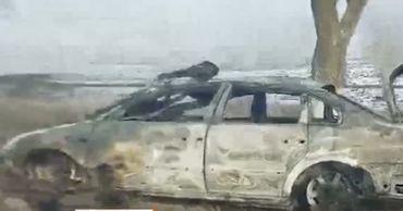 У села Малаешты произошла серия аварий, два человека пострадали.