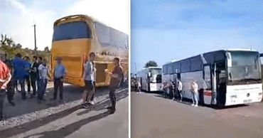 Граждане Молдовы застряли на границе Украины и Венгрии. Коллаж: Point.md