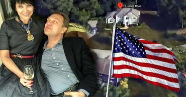 Журналисты показали дом в США, в котором проживает Сергей Яралов. Коллаж: Point.md