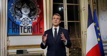 Президент Франции Эмманюэль Макрон.