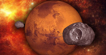 Установлено происхождение спутников Марса.