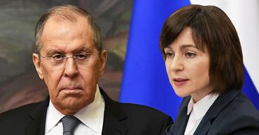 Лавров: США прямо запрещают Санду говорить о стремлении развивать отношения с Россией. Коллаж: Point.md