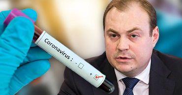 У Никифорчука обнаружили коронавирус. Фото: Point.md.
