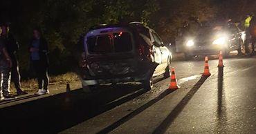 В Новых Аненах произошла серьезная авария: столкнулись четыре машины