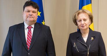 Гречаный провела встречу с послом Беларуси в Молдове.