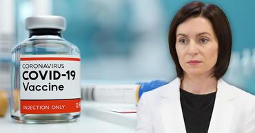 Санду: Pfizer и Moderna пока не дали согласия, чтобы нам пожертвовали вакцину. Коллаж: Point.md
