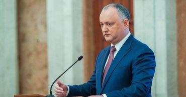 Додон уверен, что российский газ будет поступать в Молдову и после 1 января.