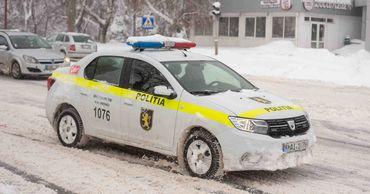 НИП рекомендует водителям контролировать скорость во время снегопада и дождя.