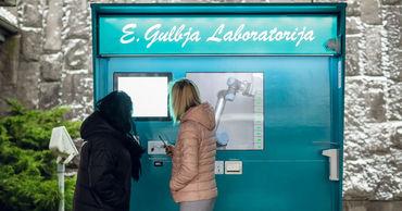 В аэропорту Риги открыли роботизированный пункт тестирования на коронавирус.