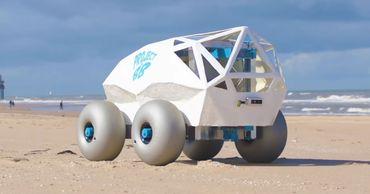 Создан автомобиль для сбора окурков.