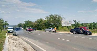 На трассе Кишинев-Хынчешты произошло ДТП: пострадали двое детей.