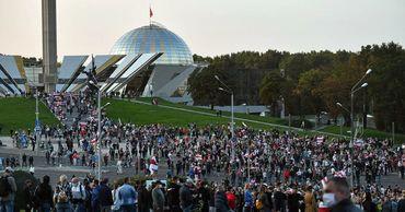 Минздрав Белоруссии обвинил протестующих в росте заболеваемости COVID-19.