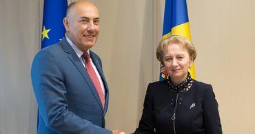 Зинаида Гречаный провела рабочую встречу с послом Литвы в Молдове.