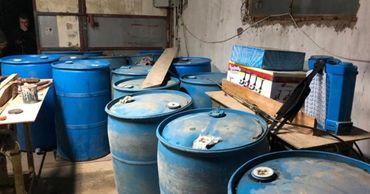 На границе Украины и Молдовы обнаружили нелегальный спиртопровод.