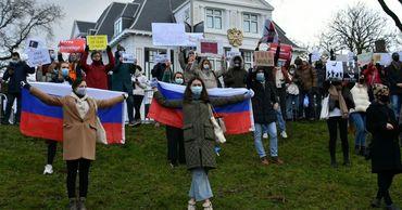Митинги в поддержку Навального прошли во многих странах мира.
