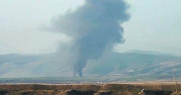 В Карабахе заявили, что сбили самолет ВВС Азербайджана.