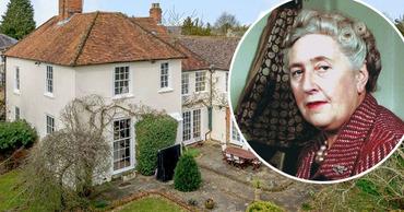 Дом Агаты Кристи в Оксфордшире выставлен на продажу