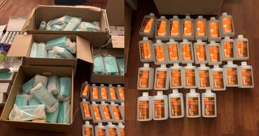 В Кишиневе выявлены незаконные торговцы средствами защиты от COVID-19