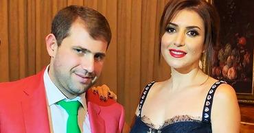 Певица Жасмин и ее супруг Илан Шор.