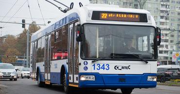 В Кишиневе общественный транспорт будет ходить только по утрам и вечерам.