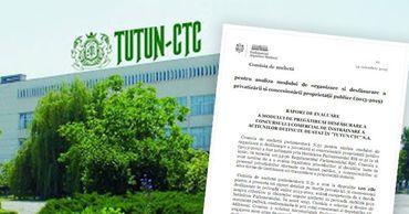 Представлен отчет о нарушениях в приватизации Tutun CTC. Фото: Point.md
