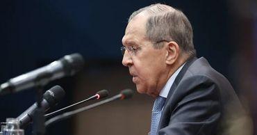 Лавров назвал тупой линию США в отношении России.