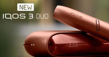 Новая версия устройства для нагревания табака - IQOS 3 Duo в Молдове ®