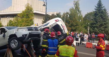 Молдавские спасатели приняли участие в соревнованиях в Румынии