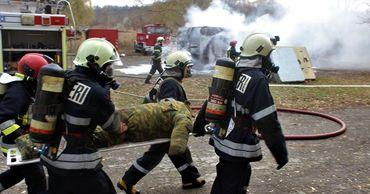 На севере Молдовы прошли учения спасателей и пожарных.