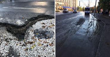 Чебан: Прошу горожан быть осторожными, на дорогах появилось много ям.
