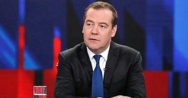 Премьер Росиии Дмитрий Медведев.