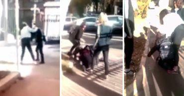 В редакцию Рoint.md прислали видео, на котором запечатлена драка школьниц.