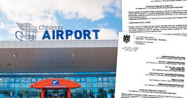 Правительство обратилось в суд с запросом на возврат аэропорта. Фото: Point.md