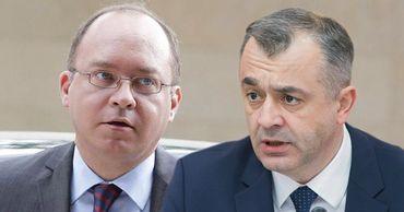 Министр иностранных дел Румынии Богдан Ауреску и премьер-министр Молдовы Ион Кику.