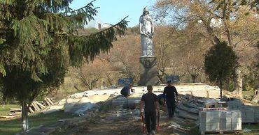 В Дубоссарском районе взялись за восстановление памятников.