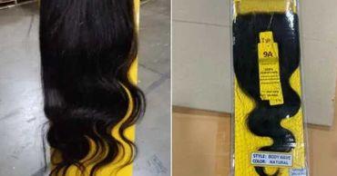 Американские пограничники арестовали груз с 13 тонн волос.