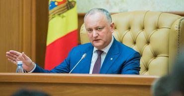 Игорь Додон: Слухи о новой диктатуре в Молдавии безосновательны.