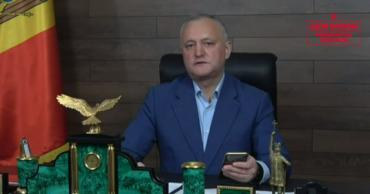 Председатель ПСРМ Игорь Додон.
