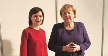 Майя Санду встретилась с Ангелой Меркель в Загребе