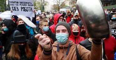 В Одесской области протестующие перекрыли дорогу из-за карантина.