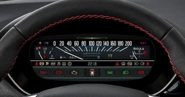 Lada Vesta получила цифровую приборную панель с графикой в духе ВАЗ-2101