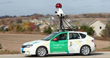 Немка нашла инопланетянина на Google-картах.